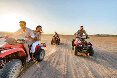 Super safari quad from Hurghada